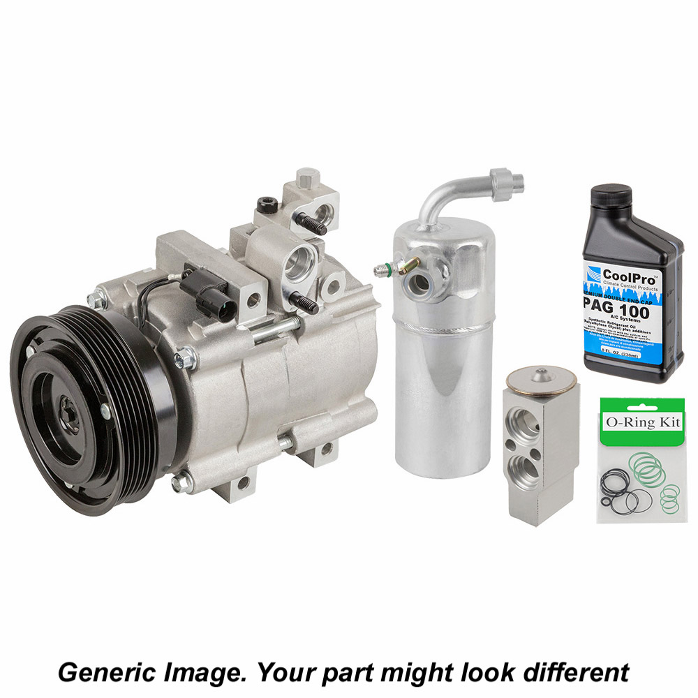 AC Compressor and Components Kit