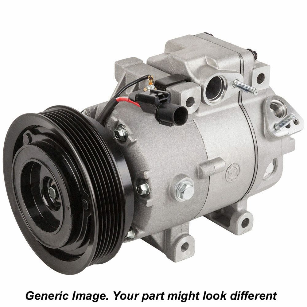 Lincoln MKS New OEM Compressor w Clutch