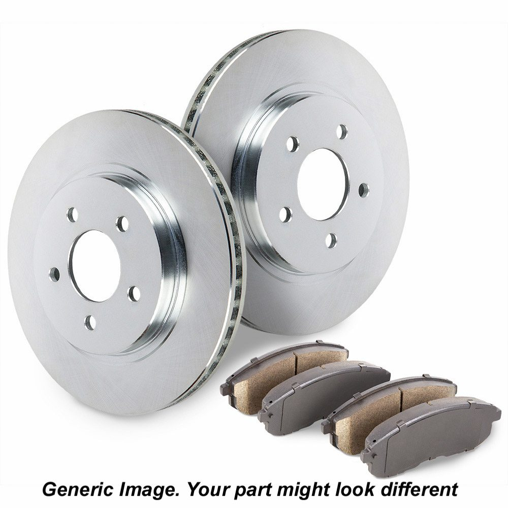 Buick Park Avenue Brake Pad and Rotor Kit
