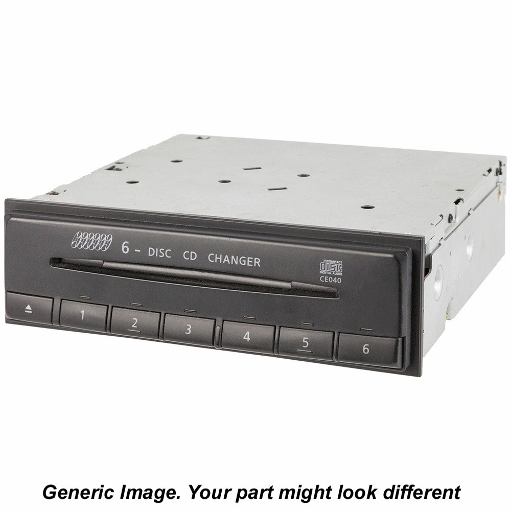 Mercedes_Benz SLK320 CD or DVD Changer