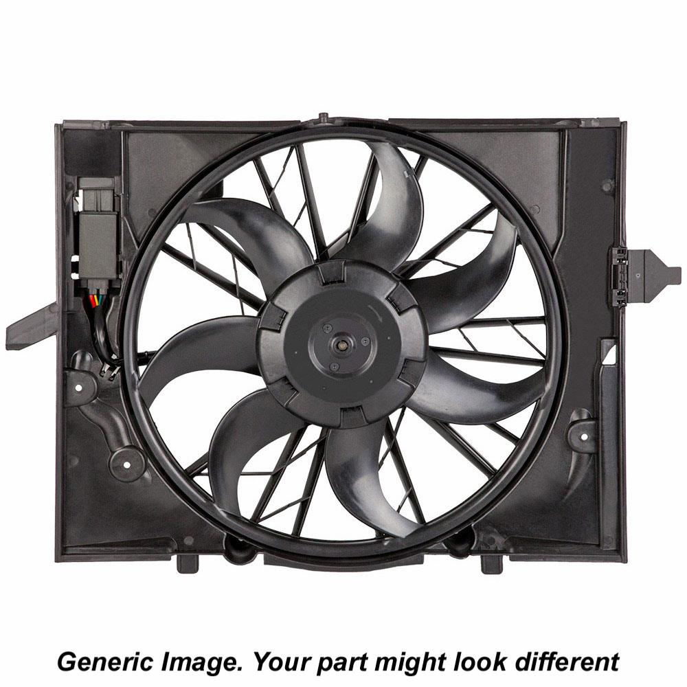 Mercedes Benz CLK550 Cooling Fan Assembly