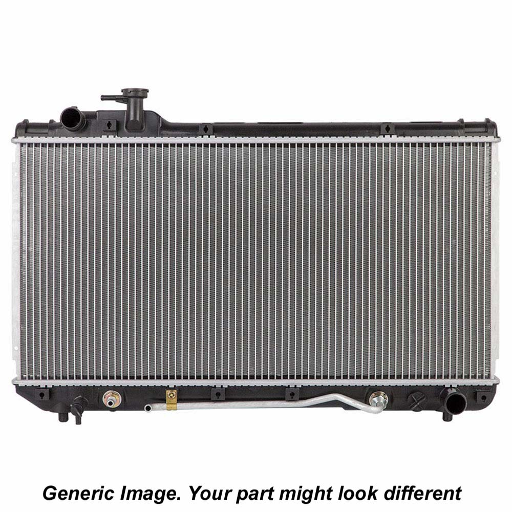 Scion xD Radiator
