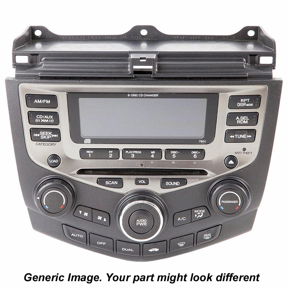 Radio or CD Player 18-40429 R