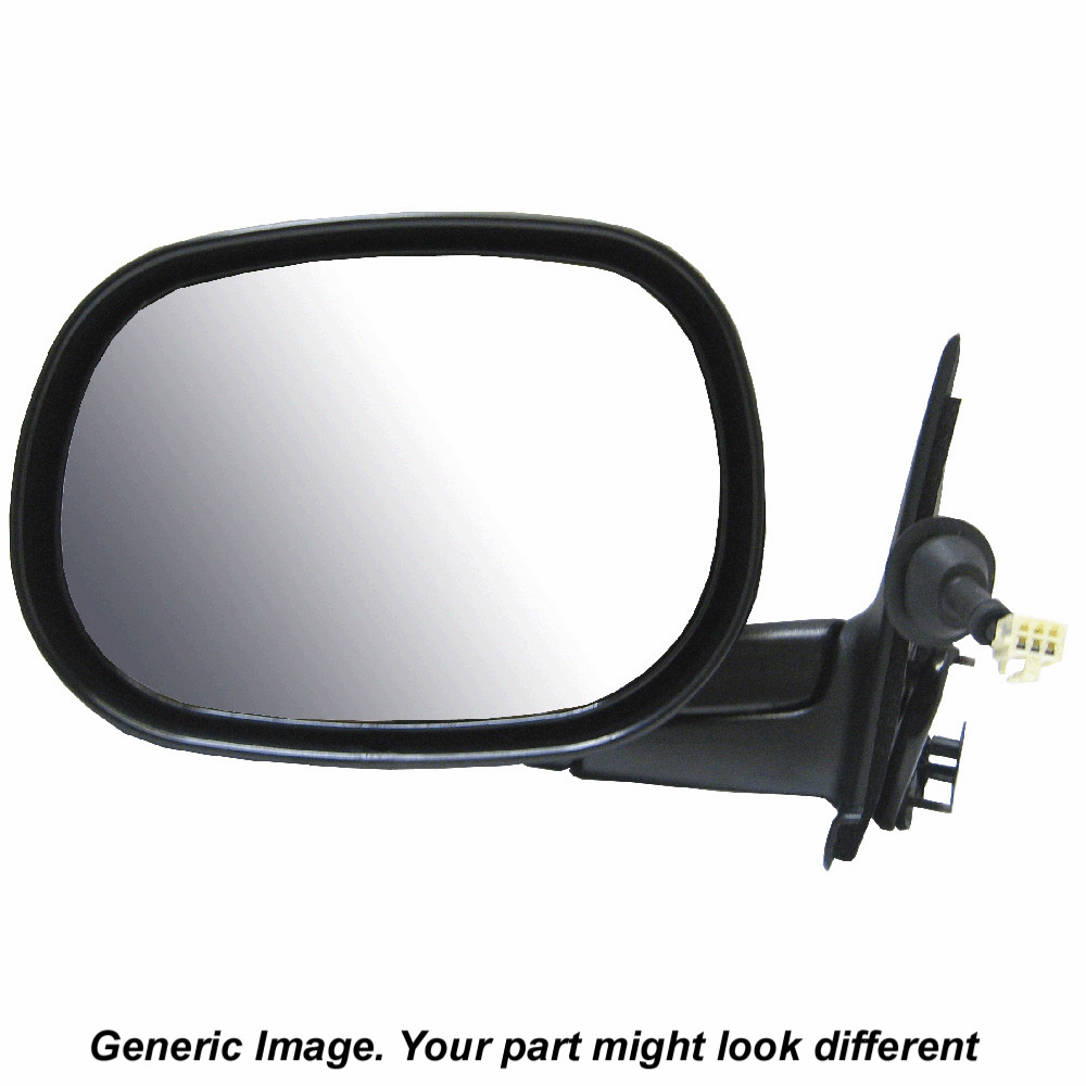 Dodge caliber side view mirror parts view online part for Where to find mirrors