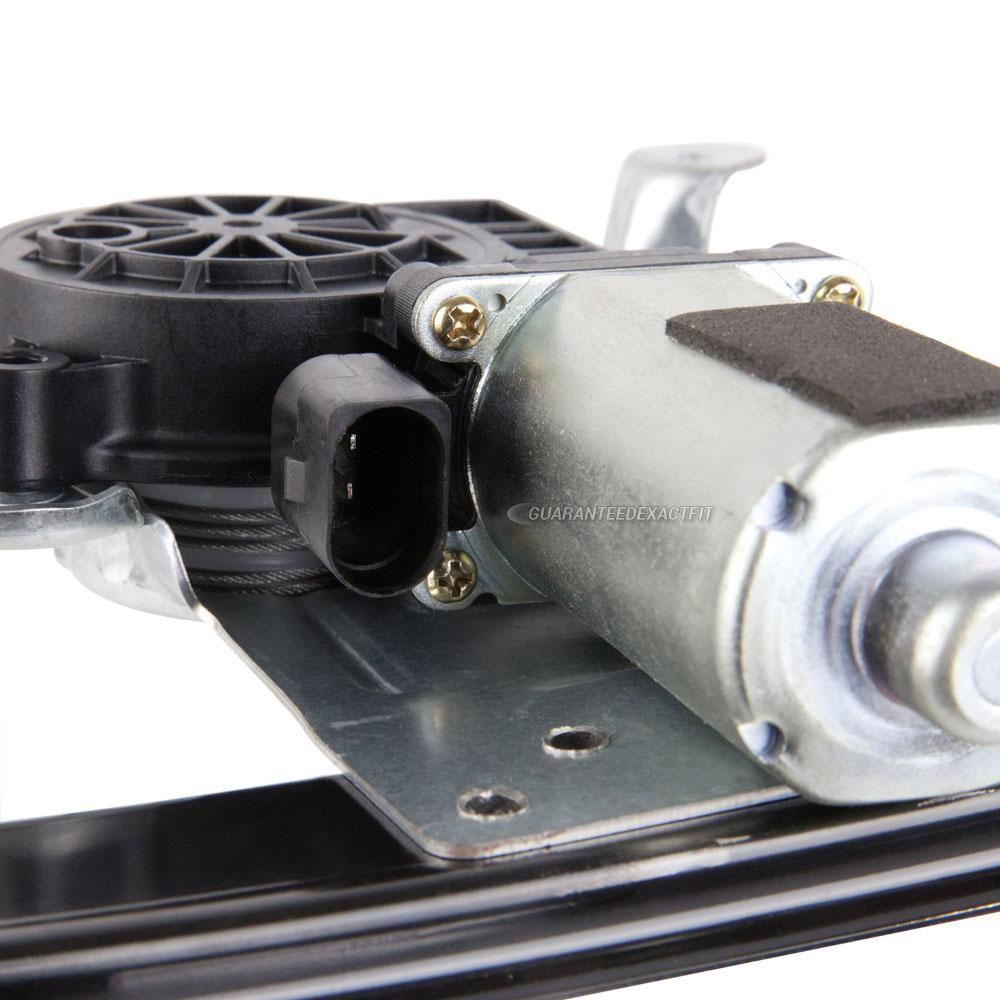 2000 volvo s80 window regulator with motor rear right