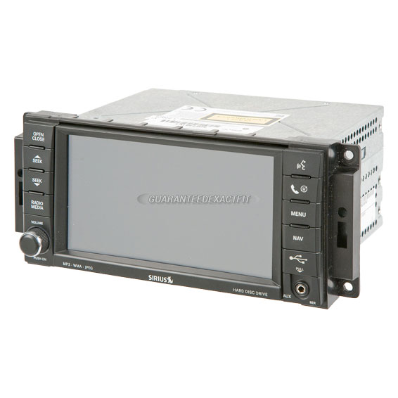 2012 Chrysler Town and Country Navigation Unit