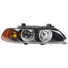 Right Passenger Side - Halogen with Amber Turn Signal
