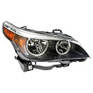 Right Passenger Side - Halogen with White Turn Signal - i Models - to Prod Date 2-28-07