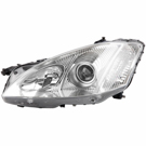 Mercedes_Benz S550 Headlight Assembly