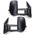 BuyAutoParts 13-70002NK Towing Mirror Set 1