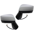 BuyAutoParts 14-80471MW Side View Mirror Set 1