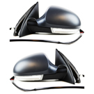 BuyAutoParts 14-80558MW Side View Mirror Set 1