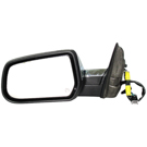 BuyAutoParts 14-11104MH Side View Mirror 2