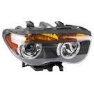 Right Passenger Side - Xenon without Adaptive Headlights - Amber Turn Signal - Li Models to Prod. Date 02-28-05