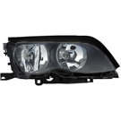 Right Passenger Side - Halogen with Black Trim - i and xi Models from Prod. Date 09-01-01