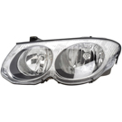 Left Driver Side - without Headlight Leveling - 300M Models