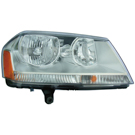 Dodge Avenger Headlight Assembly