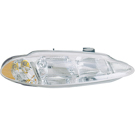BuyAutoParts 16-80421A9 Headlight Assembly Pair 2