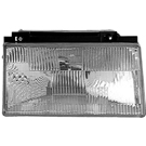 Mercury Topaz Headlight Assembly