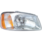 Hyundai Accent Headlight Assembly