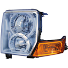 Jeep Commander Headlight Assembly