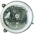 BuyAutoParts 16-00936AN Headlight Assembly 1
