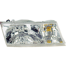 BuyAutoParts 16-01073AN Headlight Assembly 1