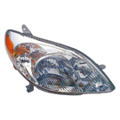 Toyota Matrix Headlight Assembly