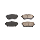 Power Stop 16-1105 Brake Pad Set 1