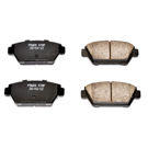 Power Stop 16-329 Brake Pad Set 1