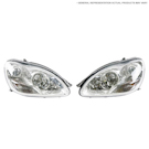 Headlight Assembly Pair - Bi Xenon Lighting Systems [code 615]