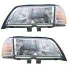 BuyAutoParts 16-80026H2 Headlight Assembly Pair 1