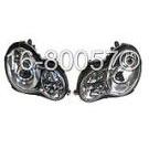 Headlight Assembly Pair - Bi-Xenon - Sedan Models
