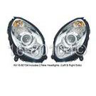 Headlight Assembly Pair - Bi Xenon with Active Curvelight - Chassis Range to A059740