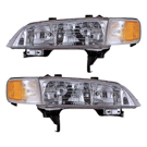 BuyAutoParts 16-80139A9 Headlight Assembly Pair 1