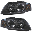 BuyAutoParts 16-80171H2 Headlight Assembly Pair 1