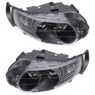 BuyAutoParts 16-80187V2 Headlight Assembly Pair 1