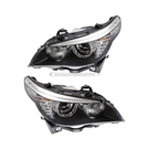 Headlight Assembly Pair - Xenon with Adaptive Headlights - All Models