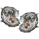 Headlight Assembly Pair - Bi Xenon with Clear Turn Indicator - [ Requires Updated Ballasts - Call for Details ]