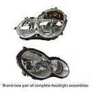 Headlight Assembly Pair - Halogen - Models with Sports Package