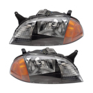 BuyAutoParts 16-80356A9 Headlight Assembly Pair 1