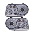 Chrysler 300M Headlight Assembly Pair