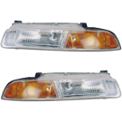Plymouth Headlight Assembly Pair