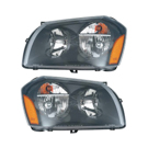 Pair of Headlight Assemblies - with Code MFA - 2.7L and 3.5L Models