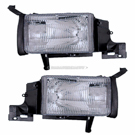 BuyAutoParts 16-80432A9 Headlight Assembly Pair 1