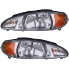 Mercury Headlight Assembly Pair