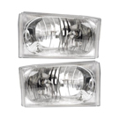BuyAutoParts 16-80476A9 Headlight Assembly Pair 1