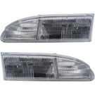 BuyAutoParts 16-80495A9 Headlight Assembly Pair 1
