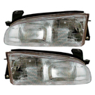 GEO Headlight Assembly Pair