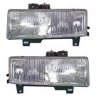 Pair of Headlight Assemblies - Denali Models